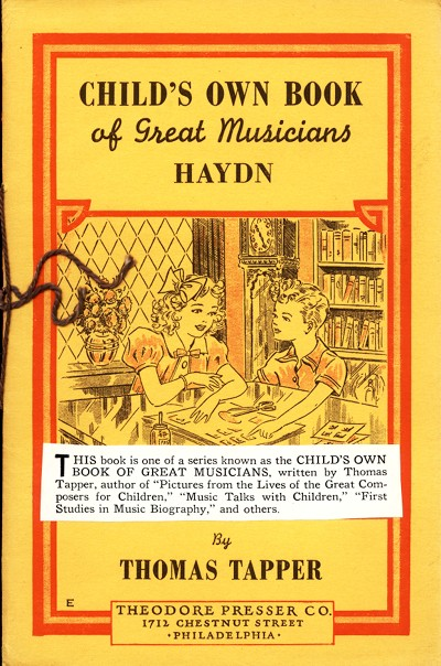 Child's own book of musicians
