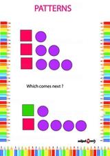 Identify correct pattern 0