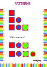 Identify correct pattern 1