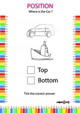 Identify correct position 18