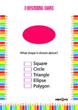 Two Dimensional - 2D Problem Worksheet #5