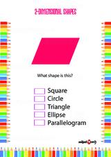 Two Dimensional - 2D Problem Worksheet #7
