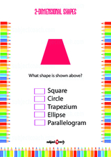 Two Dimensional - 2D Problem Worksheet #8