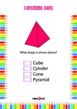 Two Dimensional - 3D Problem Worksheet #4