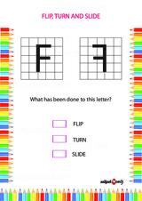 Flip, Turn or Slide Problem Worksheet #2
