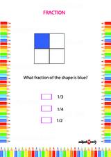 Fraction Problem Worksheet #1