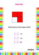 Fraction Problem Worksheet #2