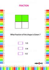 Fraction Problem Worksheet #3