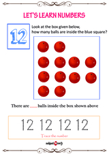 Learn to count to 12