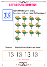 Learn to count to 13