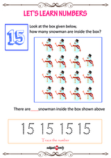 Learn to count to 15