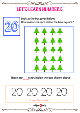 Learn to count to 20