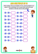 Add multiples of tens