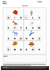Beginning Sounds H I F W G Z C and O/1