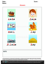 Complete Words with Long Vowel Sound A/1