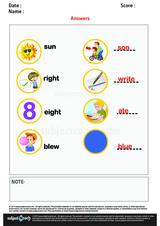 Spelling Homophones/1