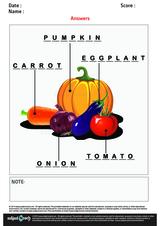 Label Vegetable/1