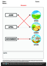 Match the Months with the Seasons/1