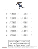 Word Search/sheet  36