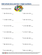 Whole Number Addition/sheet  (15)