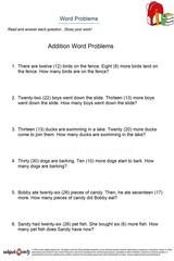word problems/sheet 25