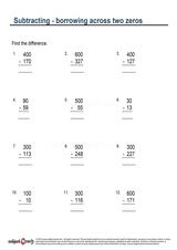 Subtraction/Sheet 85