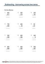 Subtraction/Sheet 90