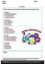 Word Definition/2