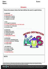 Word Definition/4