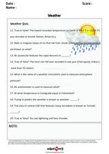 Weather Quiz/1