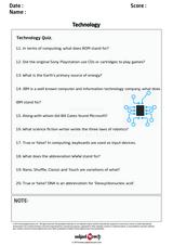 Technology Quiz/1